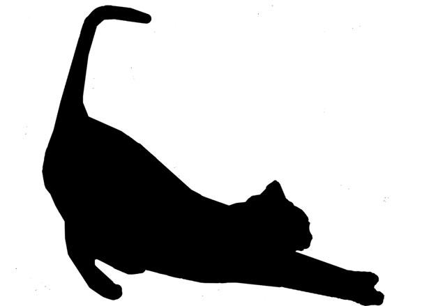 猫が好きな人はシルエットも好き!猫好き共感の画像★