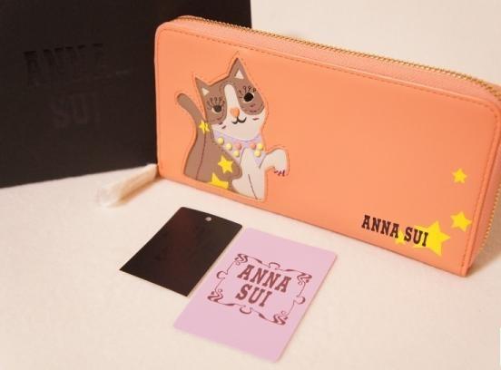 アナスイの猫財布