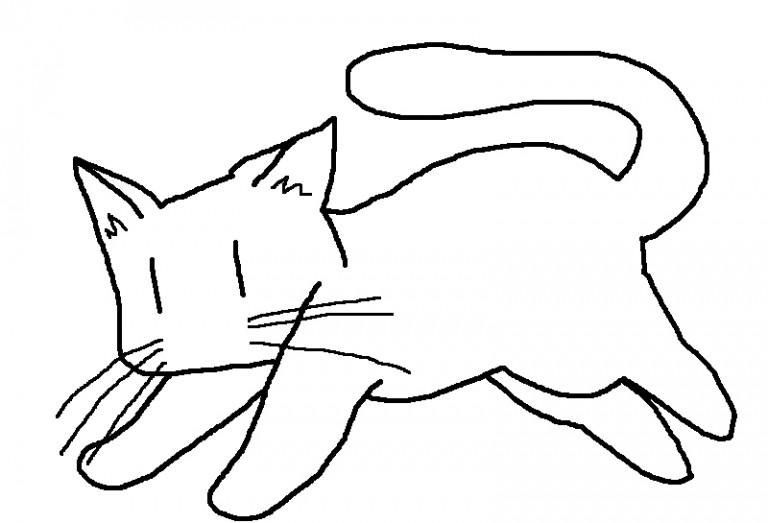 猫のイラストを描くときに気をつけたい3つのこと